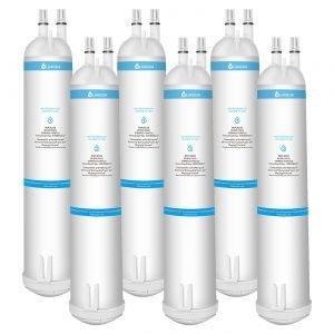 Whirlpool Refrigerator Water Filter 3 EDR3RXD1 4396710 4396841, Pur Filter 3, Kenmore 9030, 9083 (6-Pack)