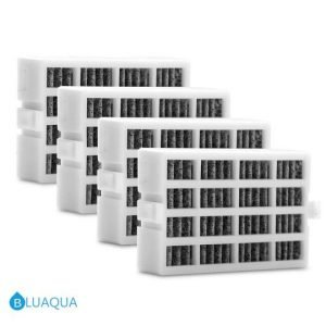 Bluaqua Air Filter Replacement for Whirlpool Refrigerator 2319308, W10335147, W10335147A  4-pack