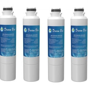 Refrigerator Water Filter Replacement for Samsung HAF-CIN, HAF-CIN/EXP, DA29-00020A/B, DA97-08006A, DA2900020B, RF28HMEDBSR, RF4287HARS, 4 Packs